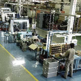 Produktion einer heatness Infrarotheizung