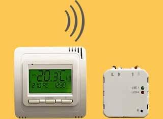 Thermostat Funk TH30 mit Empfänger Unterputz RL10