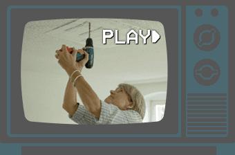 Video zur Deckenmontage einer Infrarotheizung